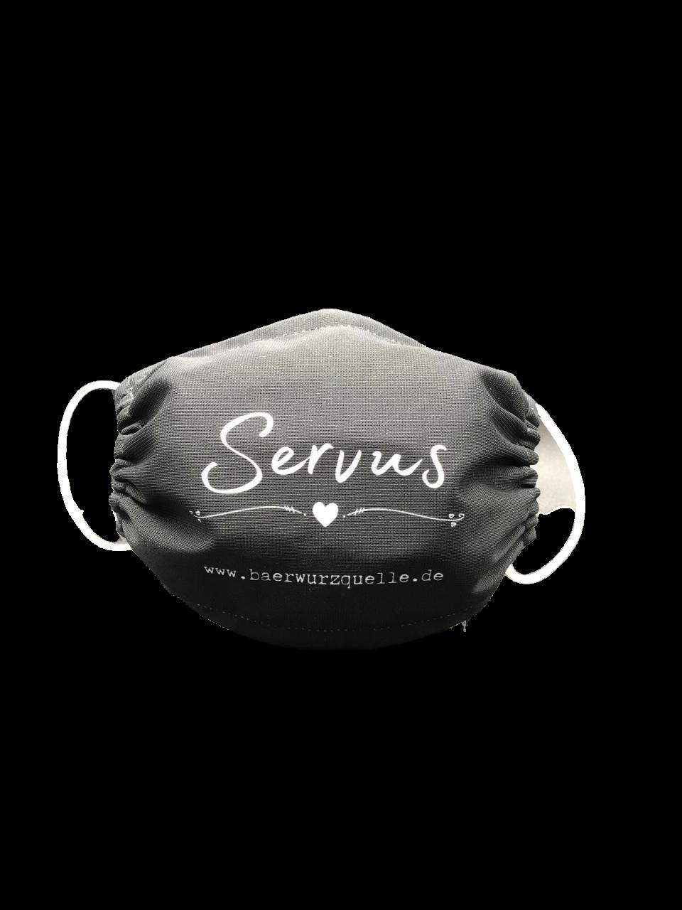 """Mund-Schutz Maske """"Servus"""""""