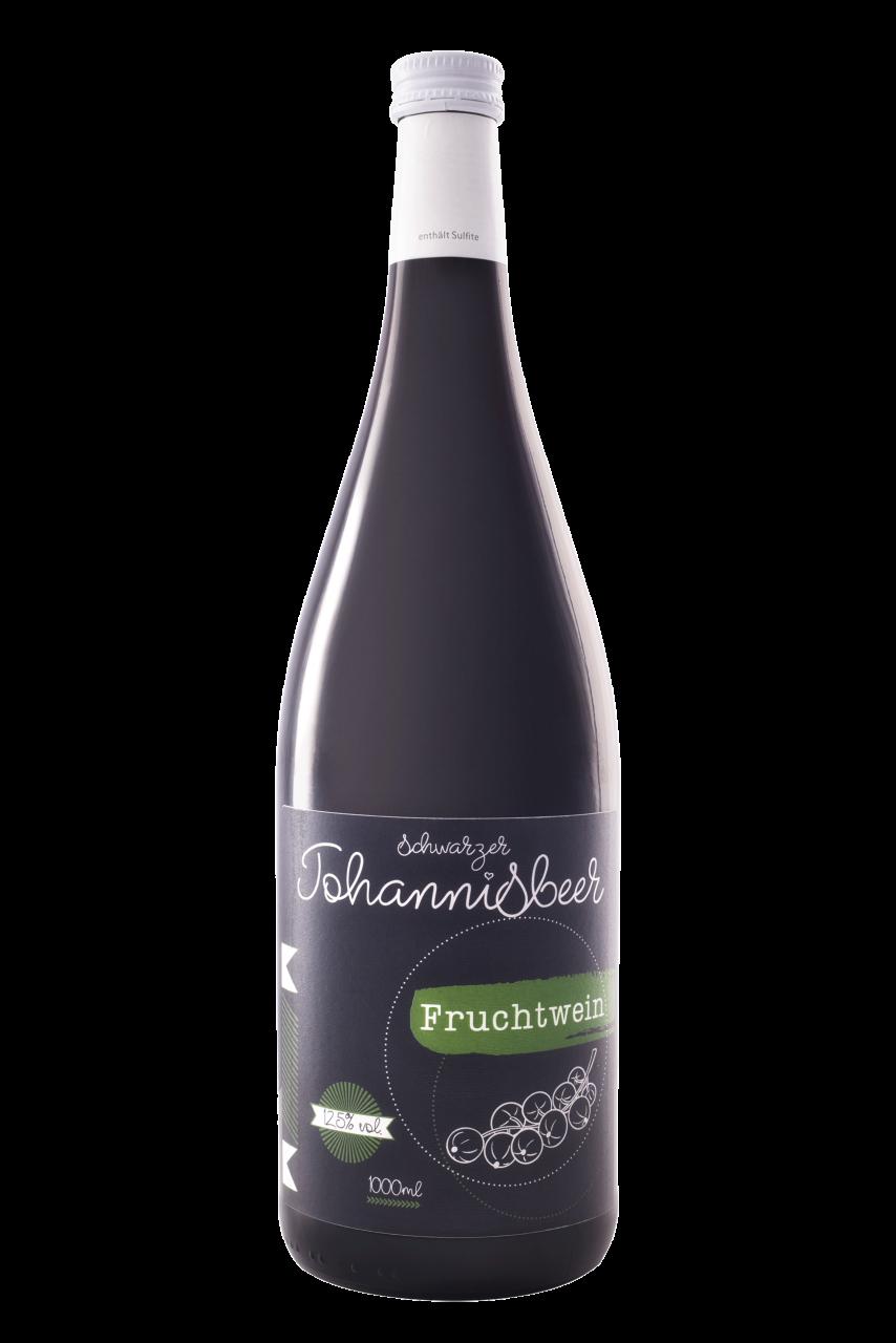 schwarzer Johannisbeer Fruchtwein